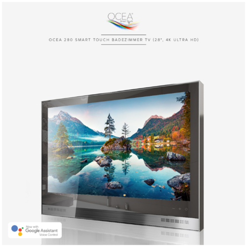 "Ocea 280 Smart Touch Badezimmer TV (28"", 4K Ultra HD)"