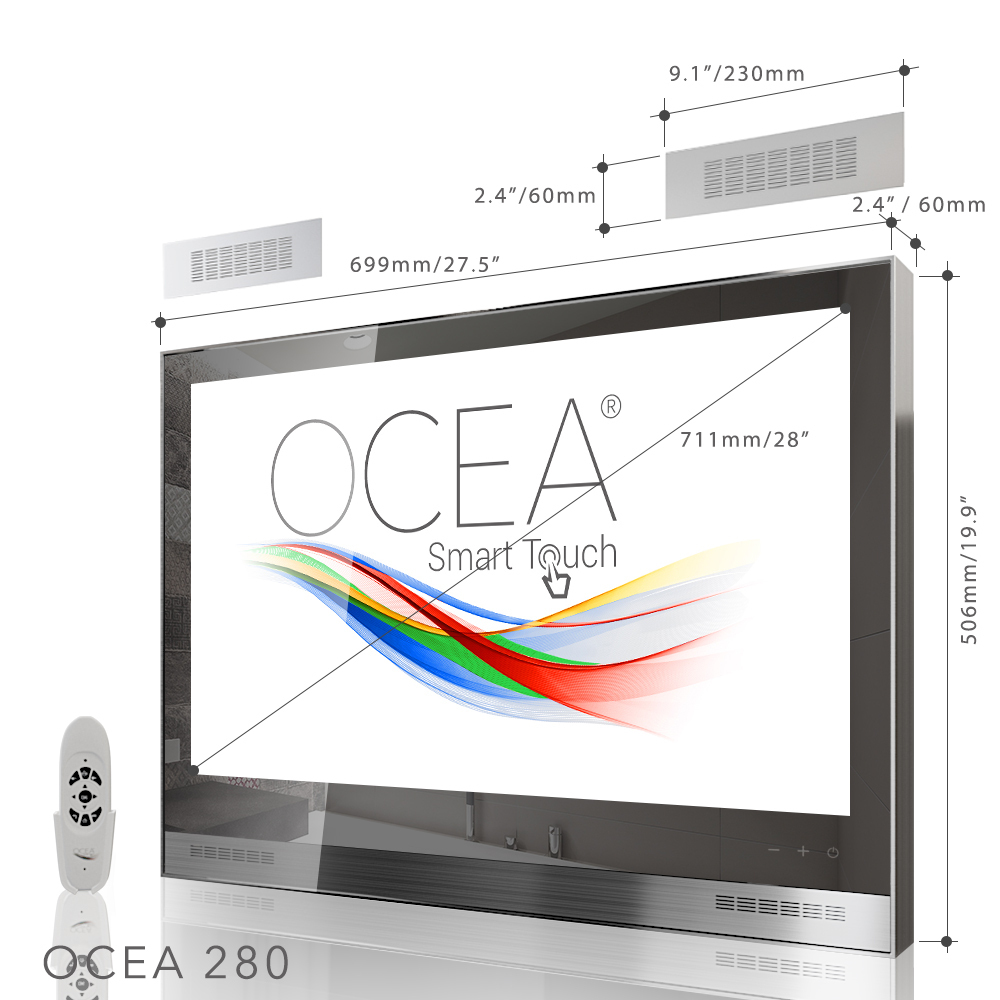 "Ocea 320 Smart Touch Badezimmer TV (32"", 4K Ultra HD ..."